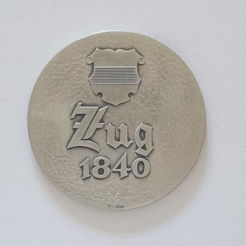 Silbermedaille Zug 1840