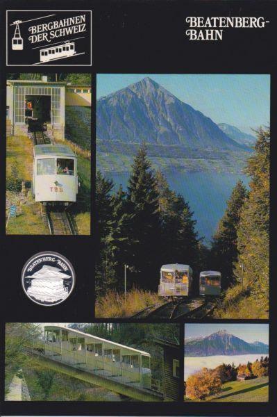 Beatenbergbahn - Bergbahnen der Schweiz - Silber Medaille