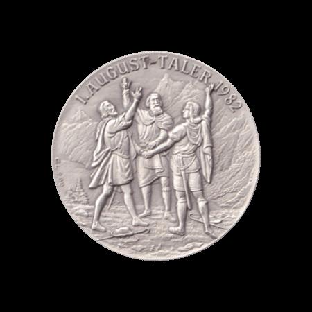 1. August Taler 1982 Silber Tells Apfelschuss