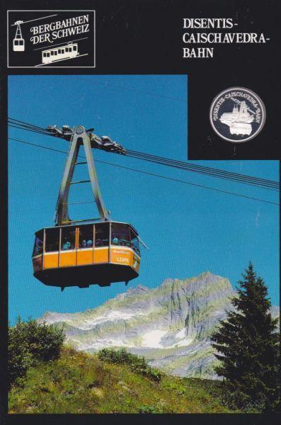 Disentis Caischavedra Bahn - Bergbahnen der Schweiz - Silber Medaille