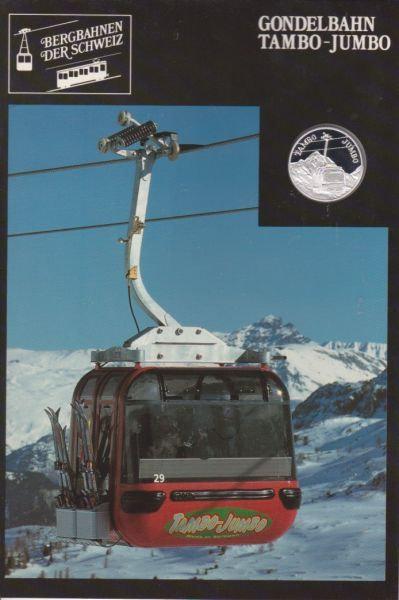 Tambo Jumbo - Bergbahnen der Schweiz - Silber Medaille