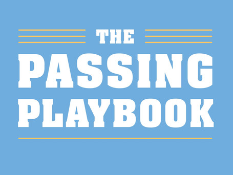THE PASSING PLAYBOOK is coming to the UK!