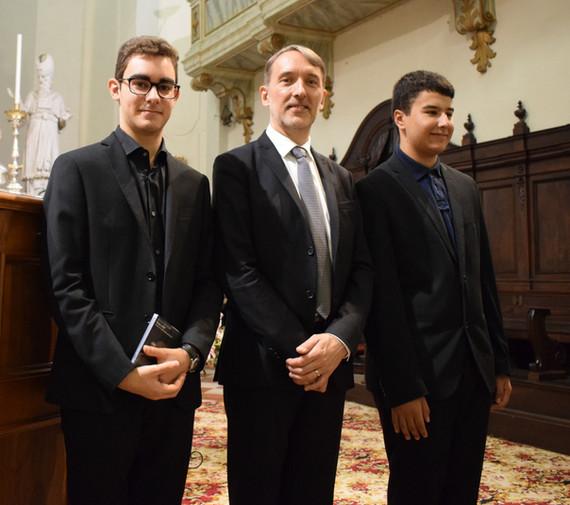 Con il M° Olivier Latry, organista titolare del grande organo Cavaillé-Coll della Cattedrale di Notre-Dame de Paris