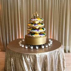 King Cake Grooms Cake
