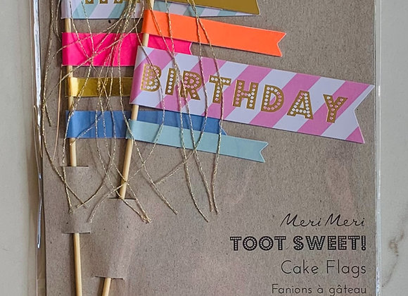 Toot Sweet Cake Toppers