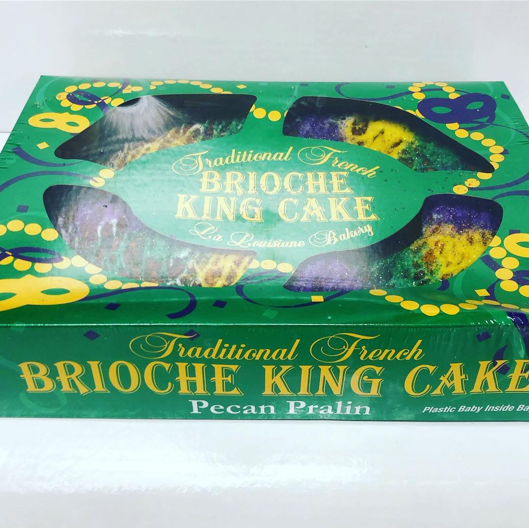 Praline King Cake