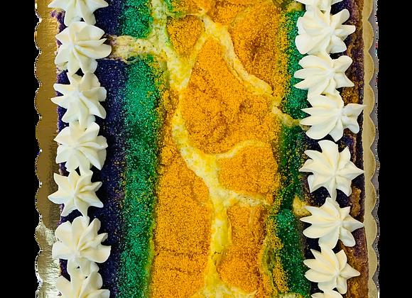 King Cake Ooey Gooey Cake