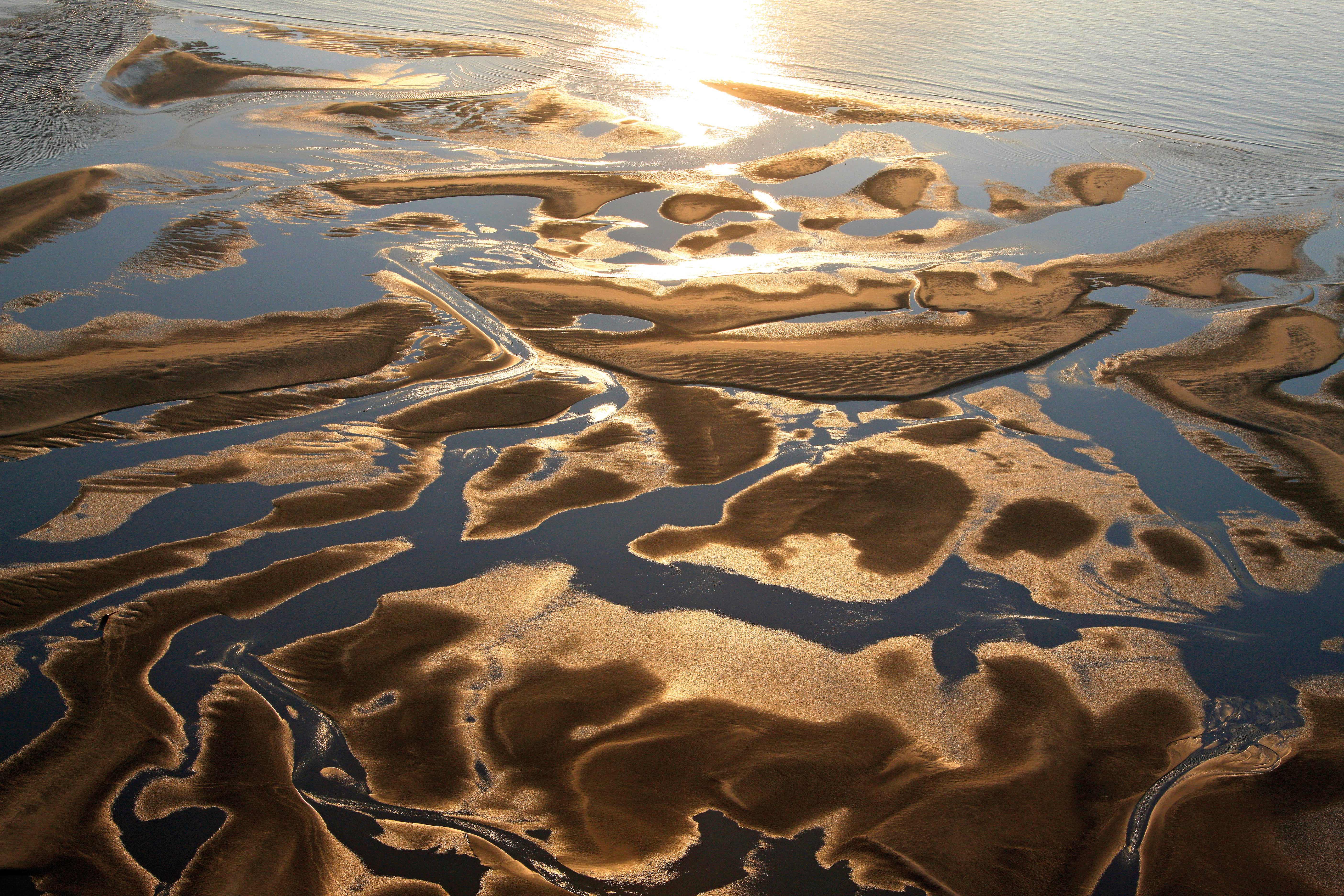 Coucher Soleil Baie d'Authie - 62
