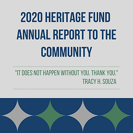 2020 Heritage Fund Annual Report to the Community - Silver Linings