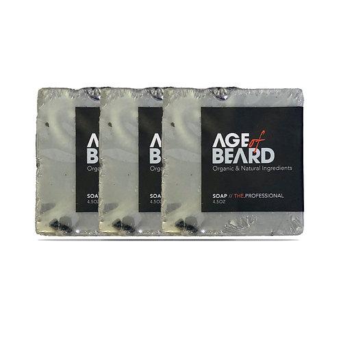Premium Beard Soap (3-Pack)