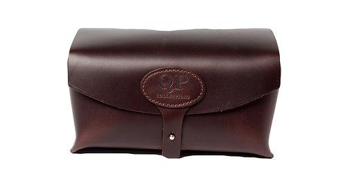 Authentic Leather Men's Toiletry Case