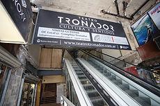 Acceso Teatro Tronador