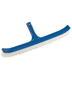 "OCEAN BLUE 18"" PLASTIC BACK BRUSH"