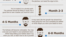 The Stages of Beard Growth - Article and Infographic