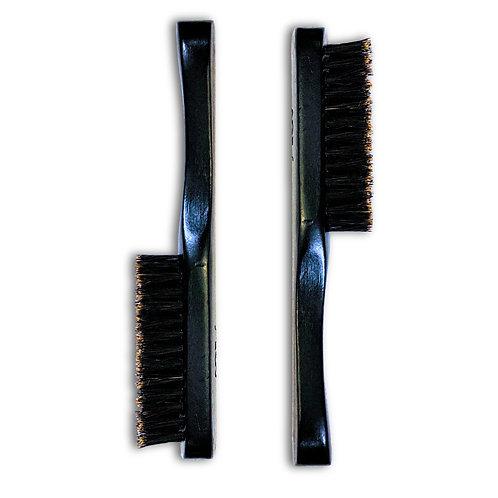 Handmade Wooden Boar Bristle Beard Brush (2-Pack)