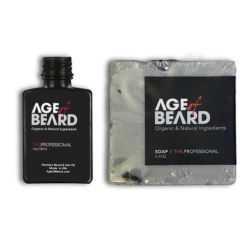 Beard Oil + Soap Combo
