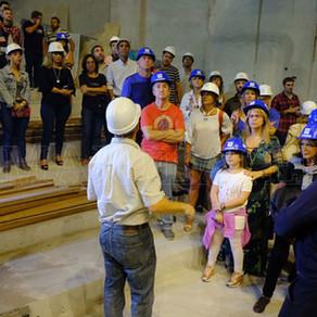Distinguidos periodistas resaltaron las obras en el Teatro Tronador