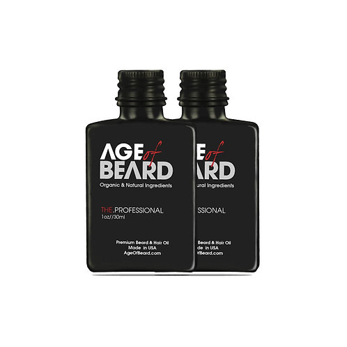 All Natural and Organic Premium Beard Oil (2-Pack)