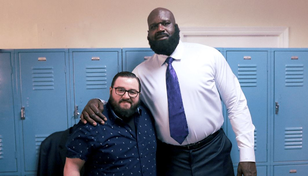 Shaq and Age of Beard Owner, Alfredo Palmer