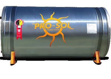 Reservatório Térmico Boiler 400 Litros Aço 304l PRO-SOL