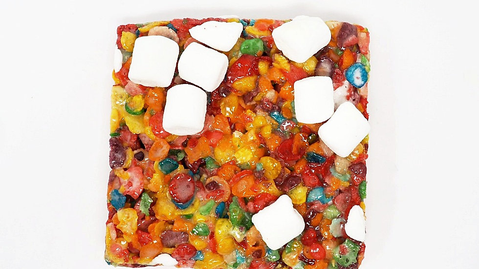 Fruity Pebbles Krispy Treat
