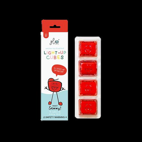 Glo Pals Light Up Cubes- Red (Sammy)