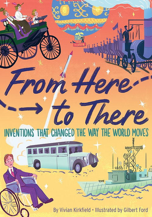 From Here to There by Vivian Kirkfield