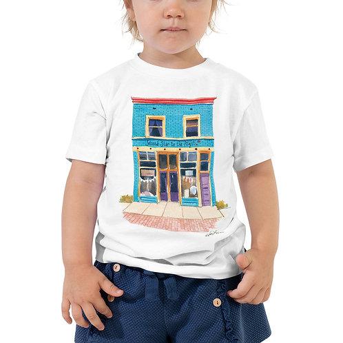 Jessica Lanan Watercolor Toddler Tee