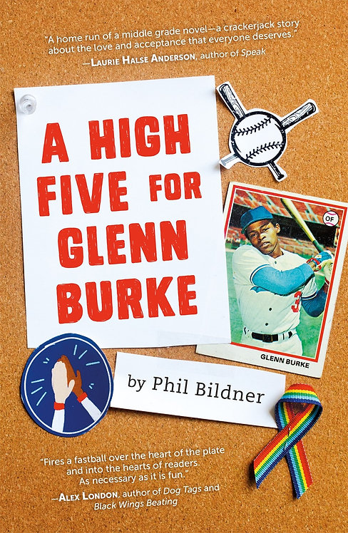 A High Five for Glenn Burke by Phil Bildner