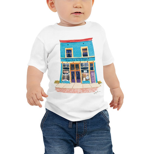 Jessica Lanan Watercolor Baby Tee