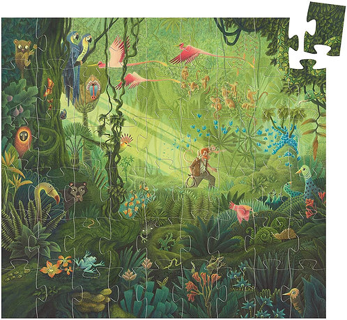 Silhouette Puzzle: In the Jungle