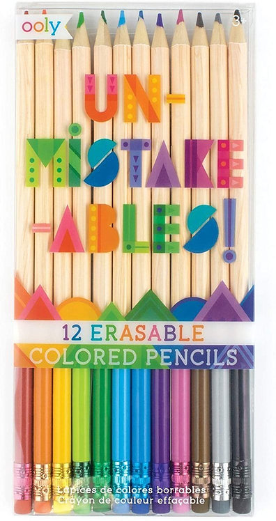 Un-mistake-ables! Eraseable Colored