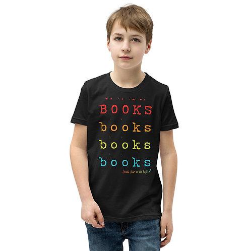 Multi-Books Rainbow Youth Tee