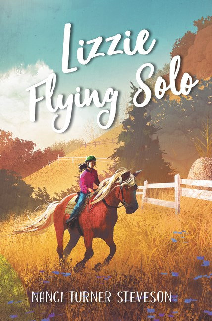 Lizzie Flying Solo by Nanci Turner Steveson