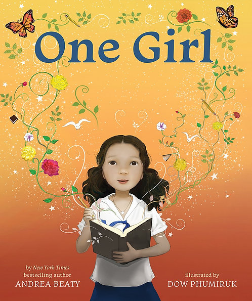 One Girl Illustrated by Dow Phumiruk