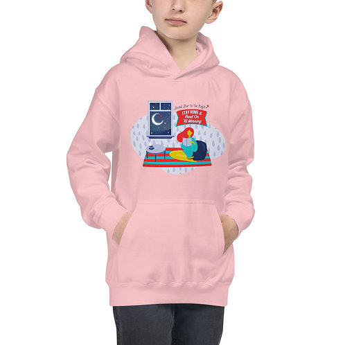 Stay Home and Read Kids' Hoodie