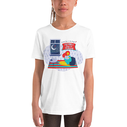 Stay Home and Read Youth Tee