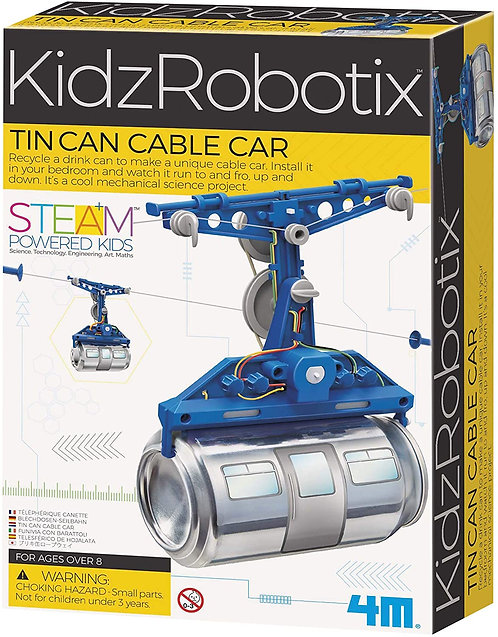 KidzRobotix: Tin Can Cable Car