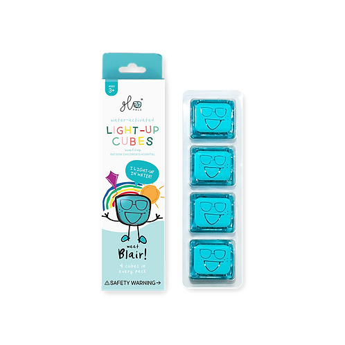 Glo Pals Light Up Cubes- Blue (Blair)