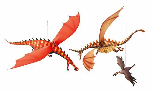Ruthless Dragon Decor