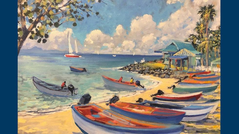 Britannia Bay, Mustique