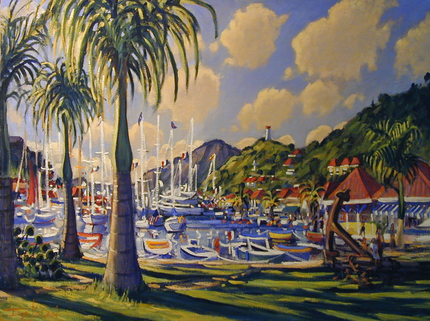 Gustavia Harbor