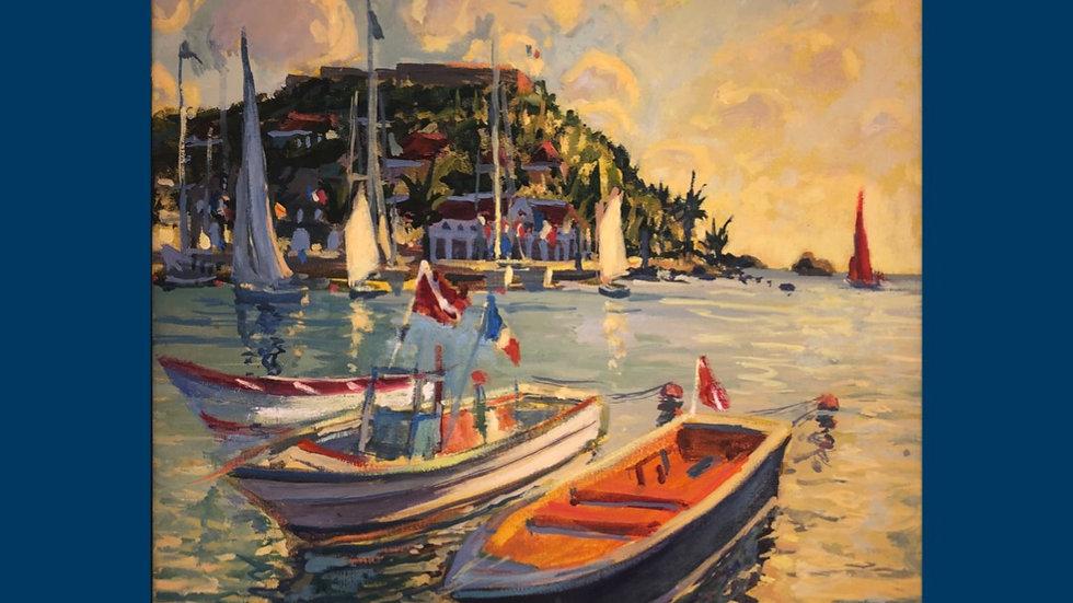 Dive Boats, Gustavia, St. Barth's