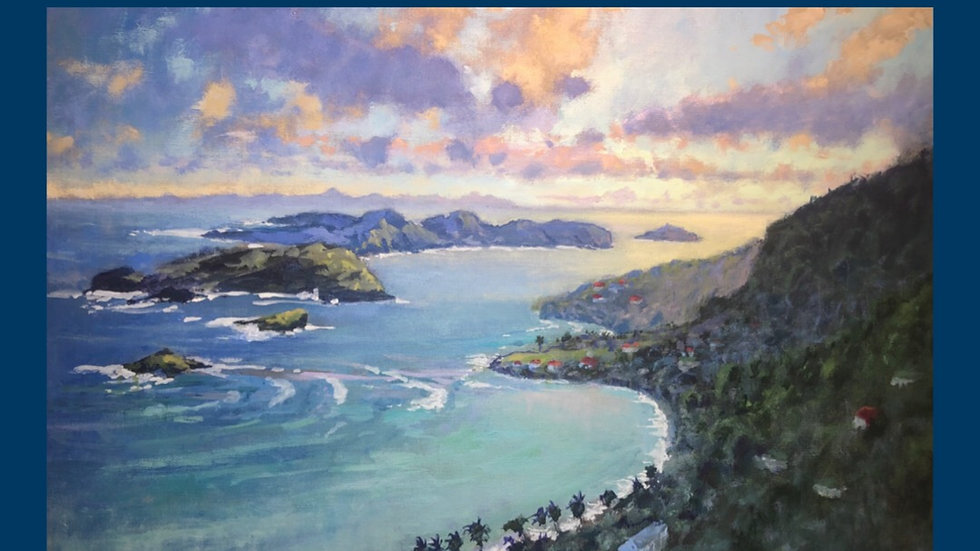 """""""Sunset over Friendship Bay, Bequia"""