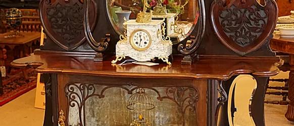 English Art Nouveau Etagere