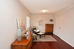 Home styling - Master bedroom lounge nook