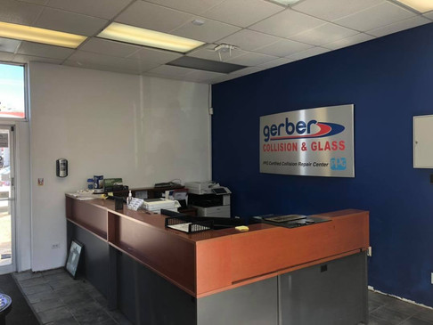 Gerber Collision and Glass Interior repaint