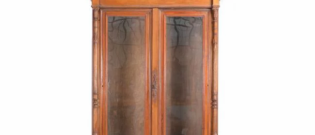 1880s Walnut Display Case