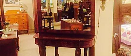 Mahogany Petticoat Mirror