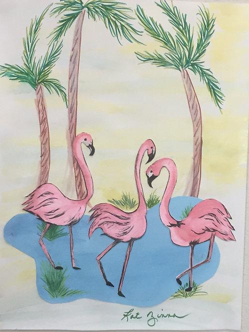 Flamingos anyone